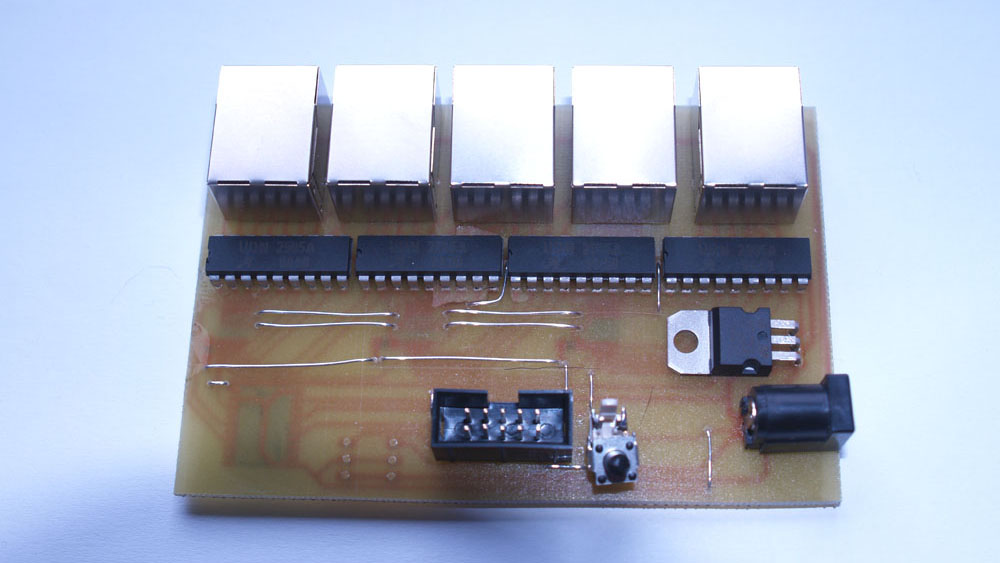 30 Kanal SPI PWM Board Oberseite