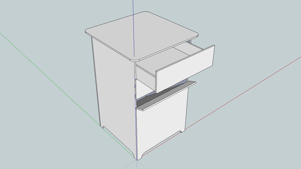 SketchUp 3D Modell